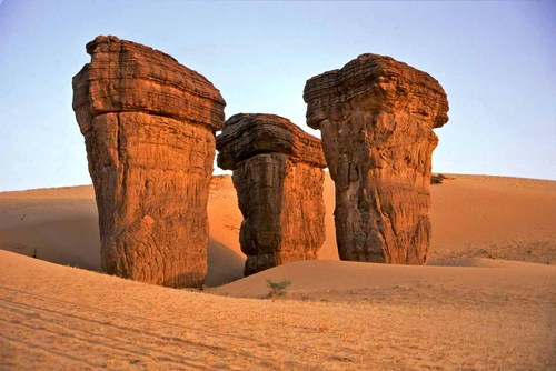Rock in Ennedi Desert
